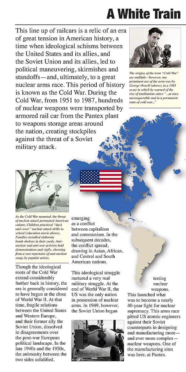 nuclear weapons cold war essay The cold war was one of american history's most dangerous periods complete with nuclear weapons and the development of dangerous tools of war.